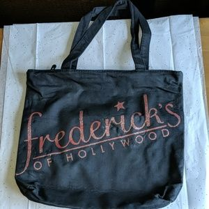 Frederick's of Hollywood tote bag
